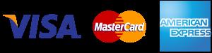 Moyens de paiements acceptés : Visa - MasterCard - American Express